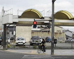 本町のミニボートピア建設予定地